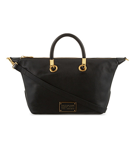 MARC JACOBS Too Hot to Handle leather satchel (Black