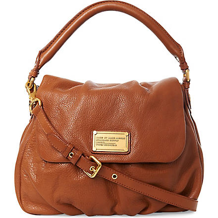 MARC BY MARC JACOBS Classic Q Lil Ukita shoulder bag (Cinammon+stick