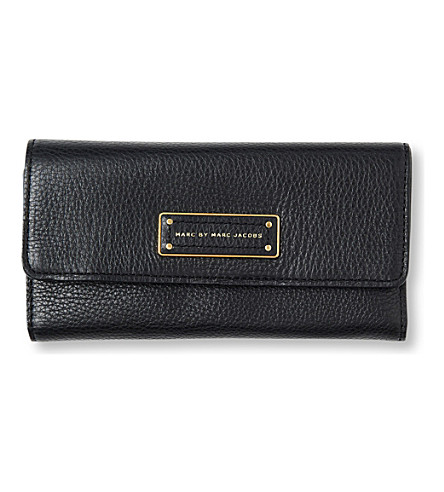 MARC BY MARC JACOBS Too Hot to Handle trifold  leather wallet (Black