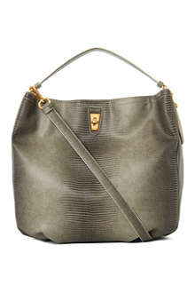MARC BY MARC JACOBS Embossed Lizzle Spotless hobo