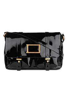 MARC BY MARC JACOBS Werdie patent satchel bag