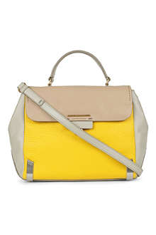 MARC BY MARC JACOBS Colourblock leather satchel