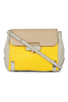 MARC BY MARC JACOBS Colourblock leather cross-body bag