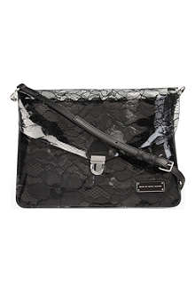 MARC BY MARC JACOBS Lace plastic cross-body bag