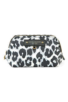 MARC BY MARC JACOBS Leopard-print cosmetic pouch