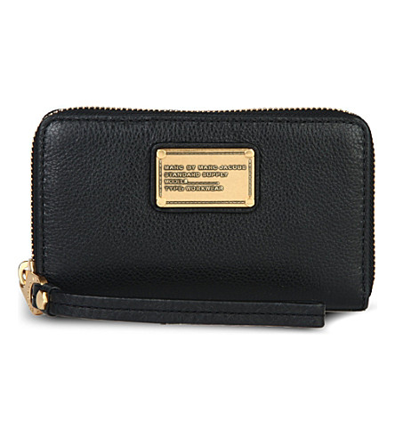MARC BY MARC JACOBS Classic Q Wingman leather wallet (Black