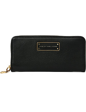 MARC BY MARC JACOBS Slim leather wallet