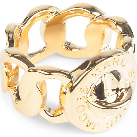 MARC BY MARC JACOBS Katie turnlock large ring (Oro