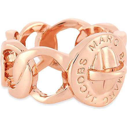 MARC BY MARC JACOBS Katie turnlock large ring (Rose gold