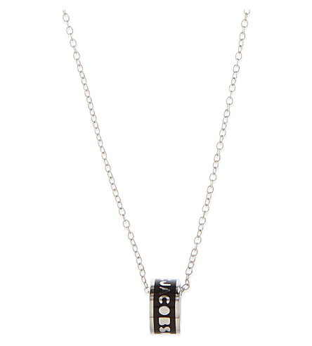 MARC BY MARC JACOBS Delicate Sweetie pendant (Black/argento