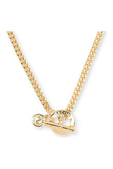 MARC BY MARC JACOBS Toggle gold-plated necklace