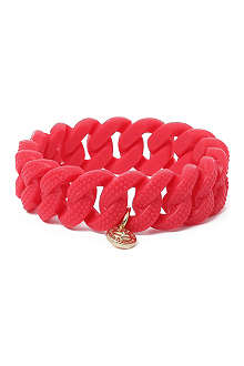 MARC BY MARC JACOBS Katie lizard rubber bracelet