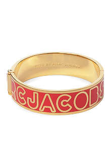 MARC BY MARC JACOBS Logo hinge bangle