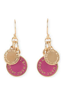 MARC BY MARC JACOBS Enamel discs earrings