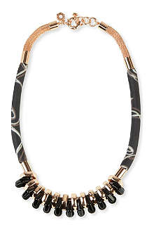 MARC BY MARC JACOBS Multi-woven bolt necklace
