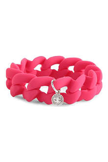 MARC BY MARC JACOBS Haute Mess rubber turnlock bracelet