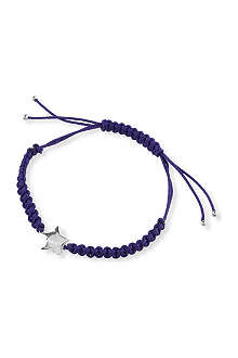MARC BY MARC JACOBS Star woven friendship bracelet