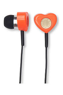 MARC BY MARC JACOBS Heart headphones