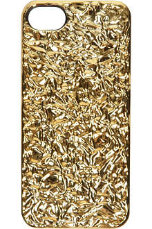 MARC BY MARC JACOBS Foil-covered iPhone 5 case