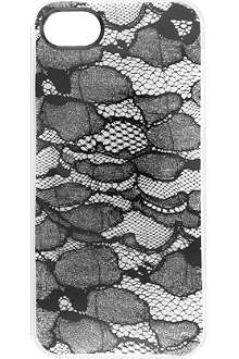 MARC BY MARC JACOBS Burnout lace iPhone case
