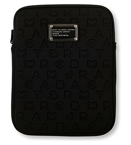 MARC BY MARC JACOBS Dreamy neoprene iPad/tablet case (Black