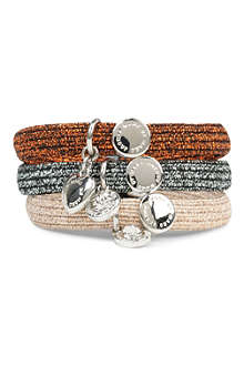 MARC BY MARC JACOBS Set of three charm hairbands