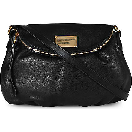 MARC BY MARC JACOBS Classic Q Natasha shoulder bag (Black
