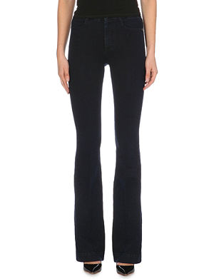 STELLA MCCARTNEY Amanda flared high-rise jeans