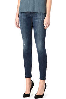 GENETIC DENIM The James skinny mid-rise jeans