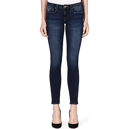 GENETIC DENIM The Shya skinny mid-rise jeans (Morph