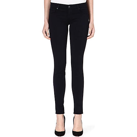 GENETIC DENIM The Shya skinny mid-rise jeans (Navy