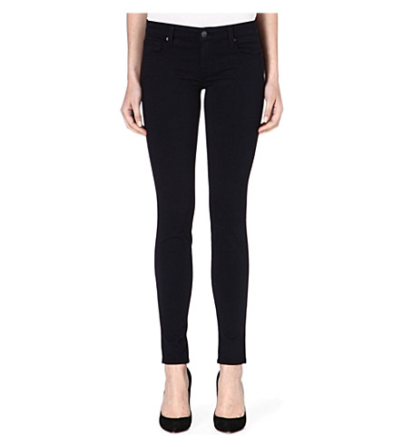 GENETIC DENIM The Shya skinny mid-rise jeans (Navy