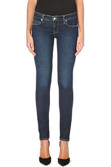 GENETIC DENIM Slim-fit skinny high-waist stretch-denim jeans