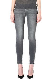 GENETIC DENIM The Drifter skinny mid-rise jeans