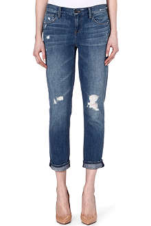 GENETIC DENIM Alexa skinny straight crop jeans