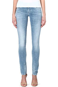 NUDIE JEANS Tight Long John skinny low-rise jeans