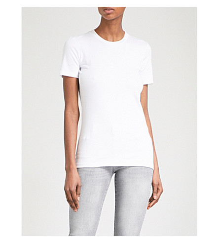7 FOR ALL MANKIND Flared cropped high-rise jeans (Slim+illusion+dawn