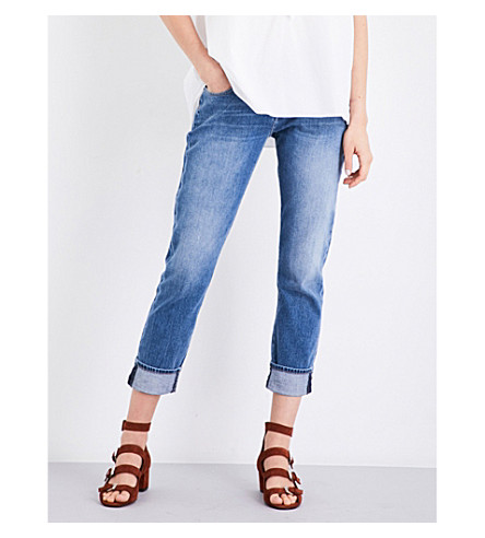 7 FOR ALL MANKIND Relaxed boyfriend mid-rise jeans (Vintage+mid