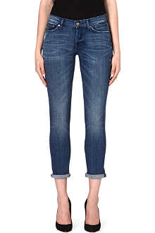 7 FOR ALL MANKIND Josefina boyfriend mid-rise jeans