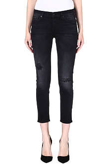 7 FOR ALL MANKIND Josie skinny boyfriend low-rise jeans