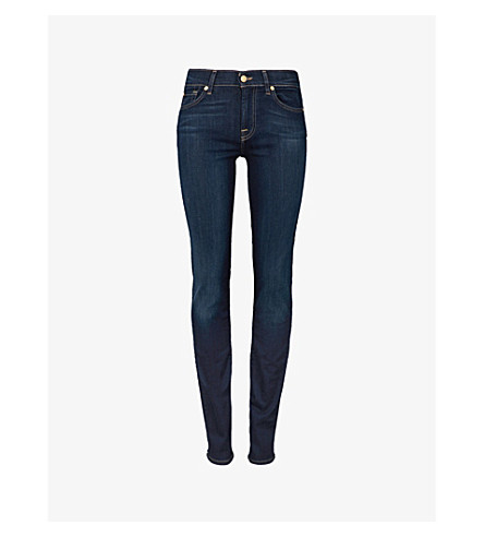 7 FOR ALL MANKIND Roxanne skinny mid-rise jeans (Bairinind