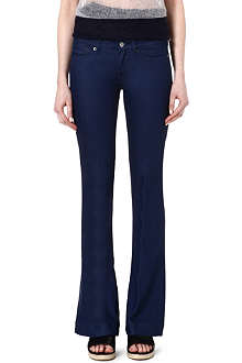 7 FOR ALL MANKIND Jiselle flared mid-rise jeans