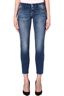 7 FOR ALL MANKIND Cigarette slim mid-rise jeans
