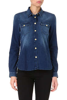7 FOR ALL MANKIND Classic Western denim shirt