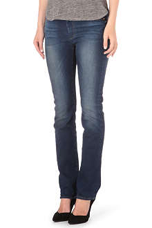 7 FOR ALL MANKIND Straight mid-rise jeans