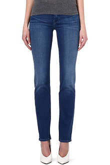 7 FOR ALL MANKIND Straight high-rise jeans