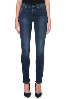 7 FOR ALL MANKIND Rozie slim high-waist stretch-denim jeans