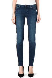 7 FOR ALL MANKIND Rozie straight mid-rise jeans
