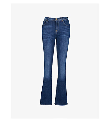 7 FOR ALL MANKIND Bair bootcut mid-rise jeans (Bair+duchess