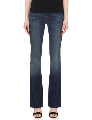 7 FOR ALL MANKIND Bootcut mid-rise jeans